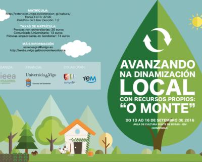 """""""Avanzando na dinamización local con recursos propios: """"O monte"""""""