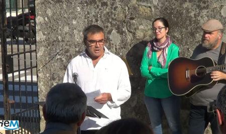 """Mes da memoria. """"A VOLTA DAS NOVE"""". Homenaxe ás familias represaliadas no Val de Miñor."""